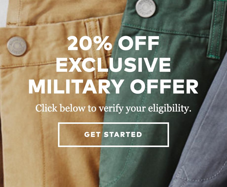 Bonobos Military Veteran Discounts
