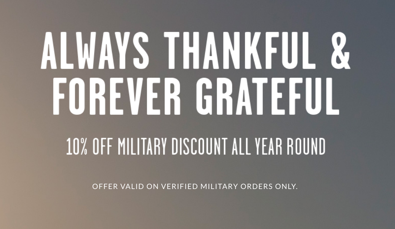 Buckle Military Veteran Discounts