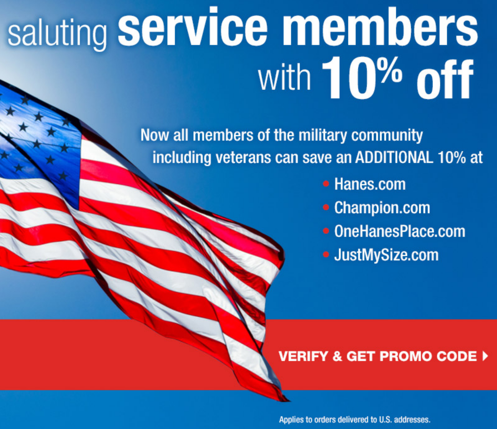 Champion.com Military Veteran Discounts