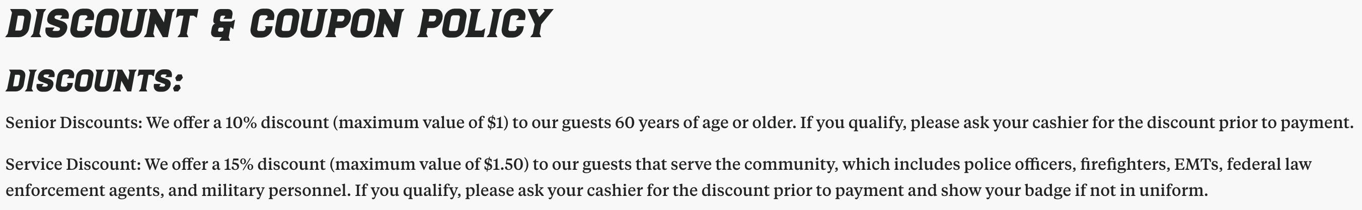 El Pollo Loco Military Veteran Discounts
