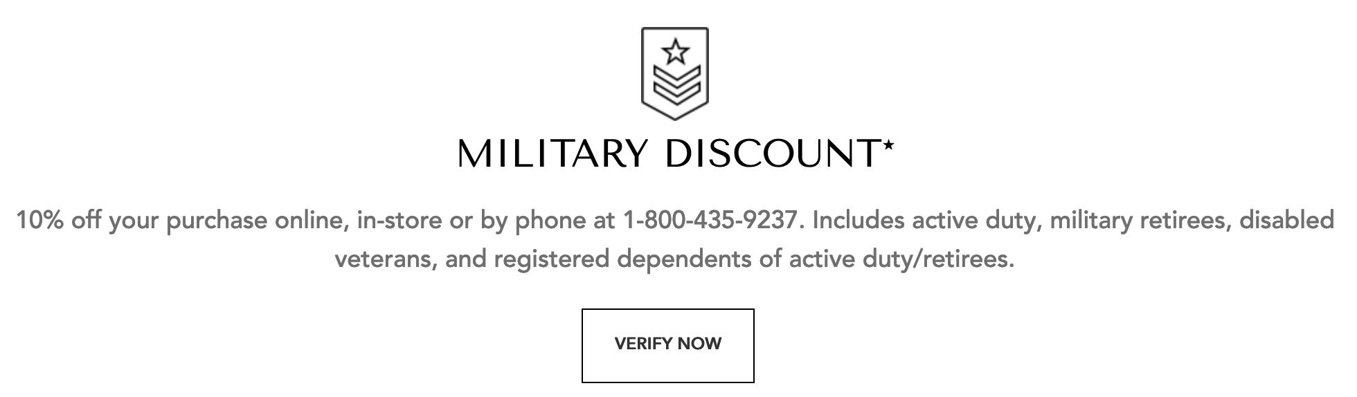 Helzberg Diamonds Military Veteran Discounts