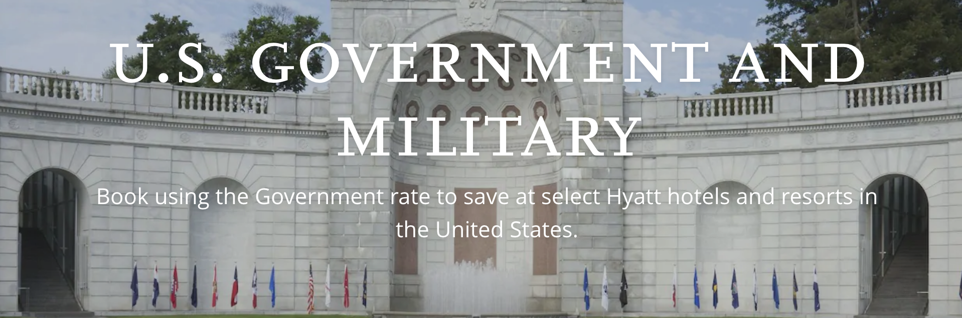 Hyatt Hotels Military Veteran Discounts