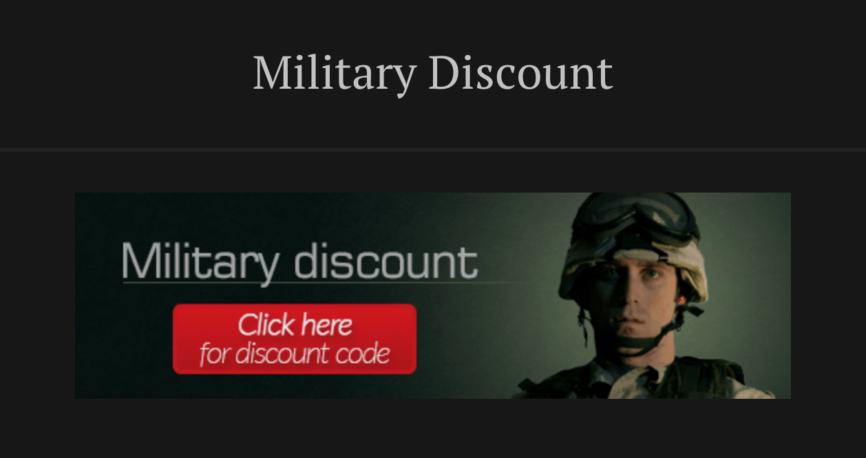 Indian Larry Motorcycles Military Veteran Discounts