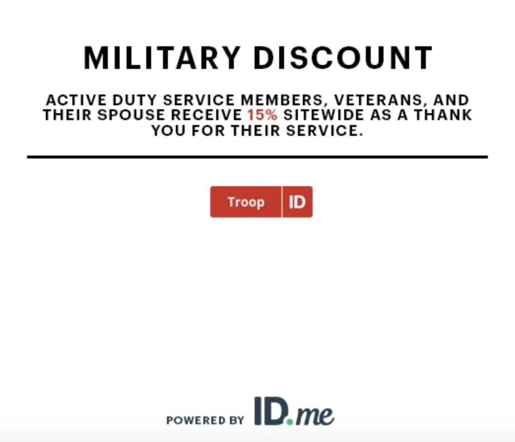 JackThreads Military Veteran Discounts