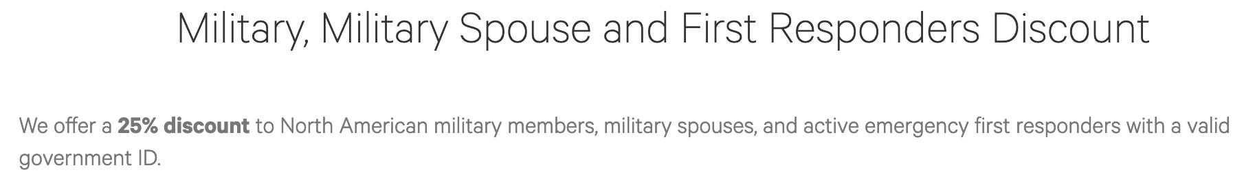 Lululemon Military Veteran Discounts