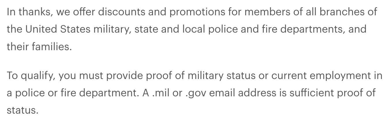 Newton Running Military Veteran Discounts