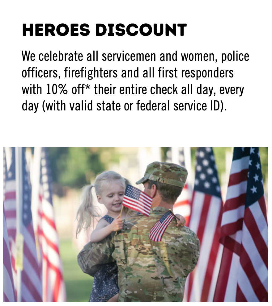 Outback Steakhouse Military Veteran Discounts