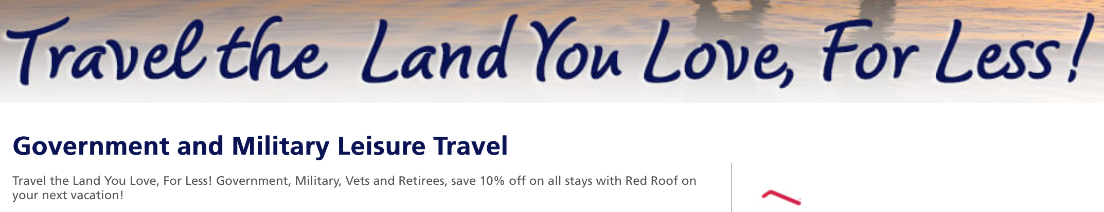 Red Roof Inn Military Veteran Discounts