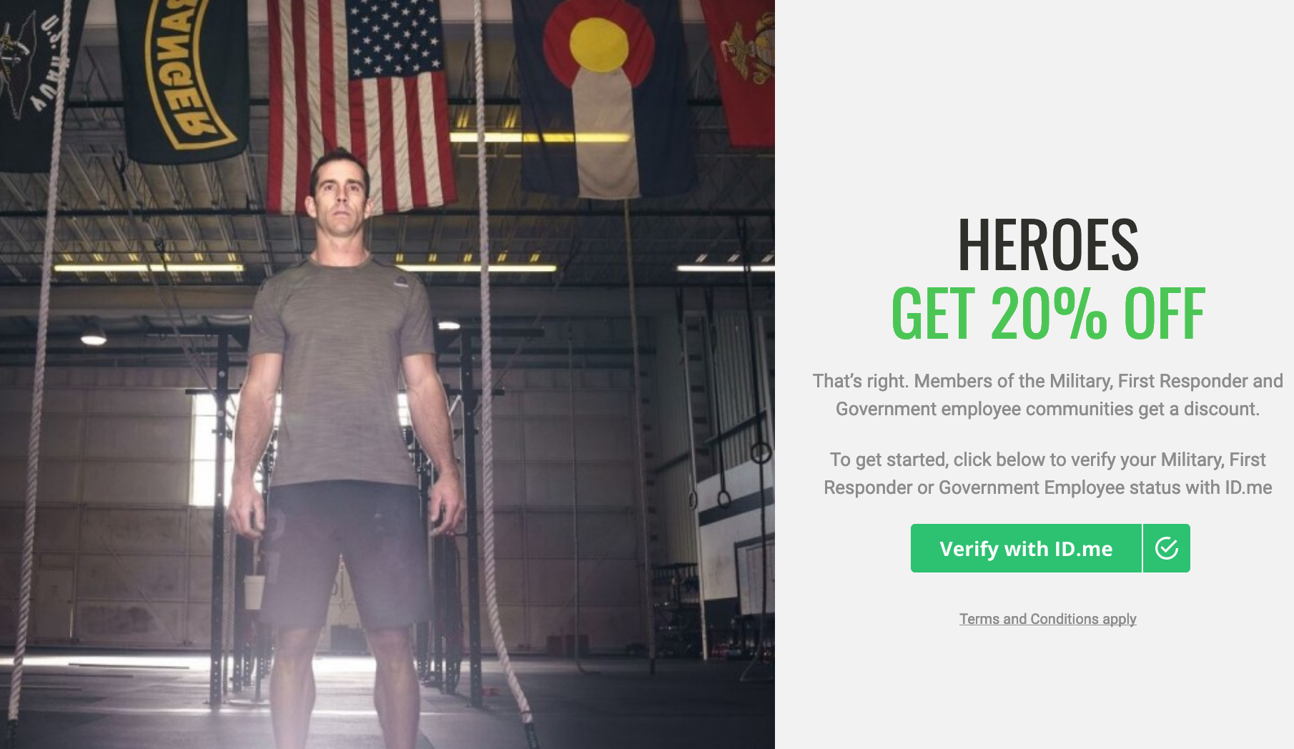 Reebok Military Veteran Discounts