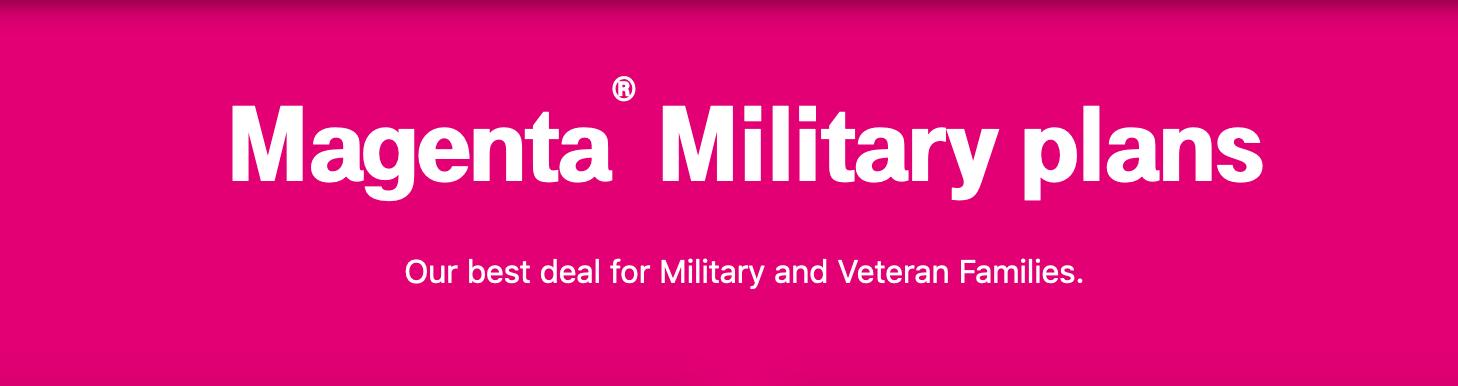 T-Mobile Military Veteran Discounts