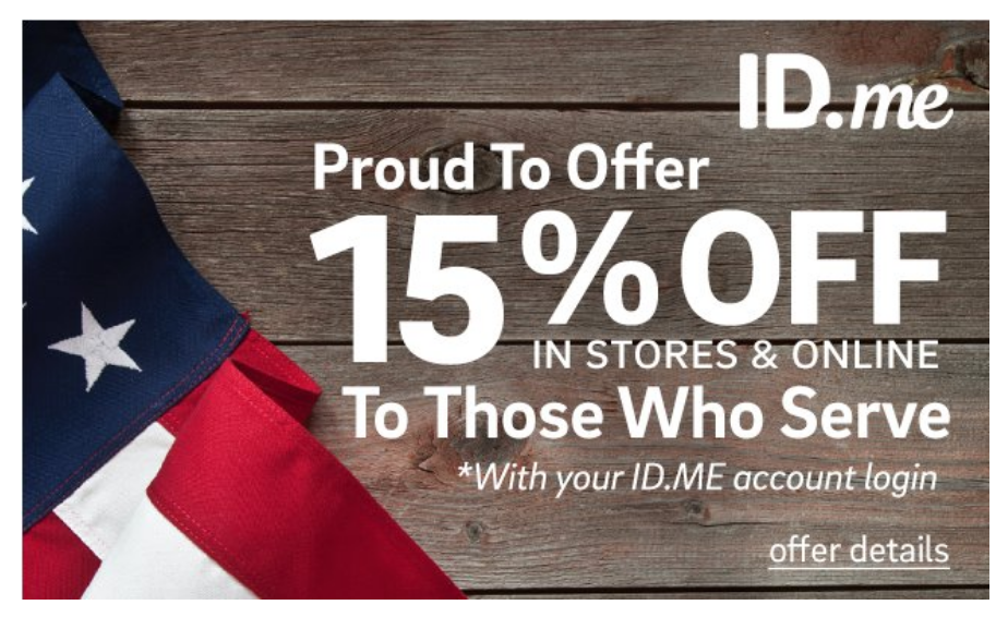 Tervis Military Veteran Discounts
