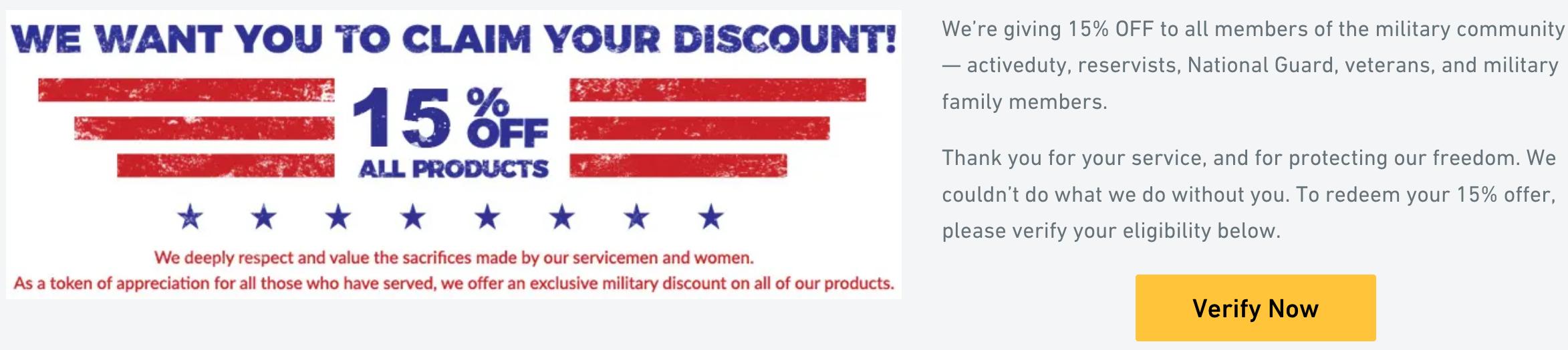 Veterans Nation Military Veteran Discounts