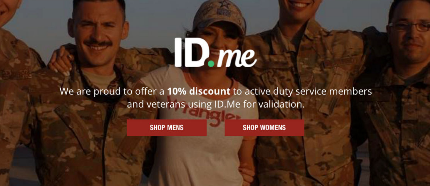 Wrangler Military Veteran Discounts