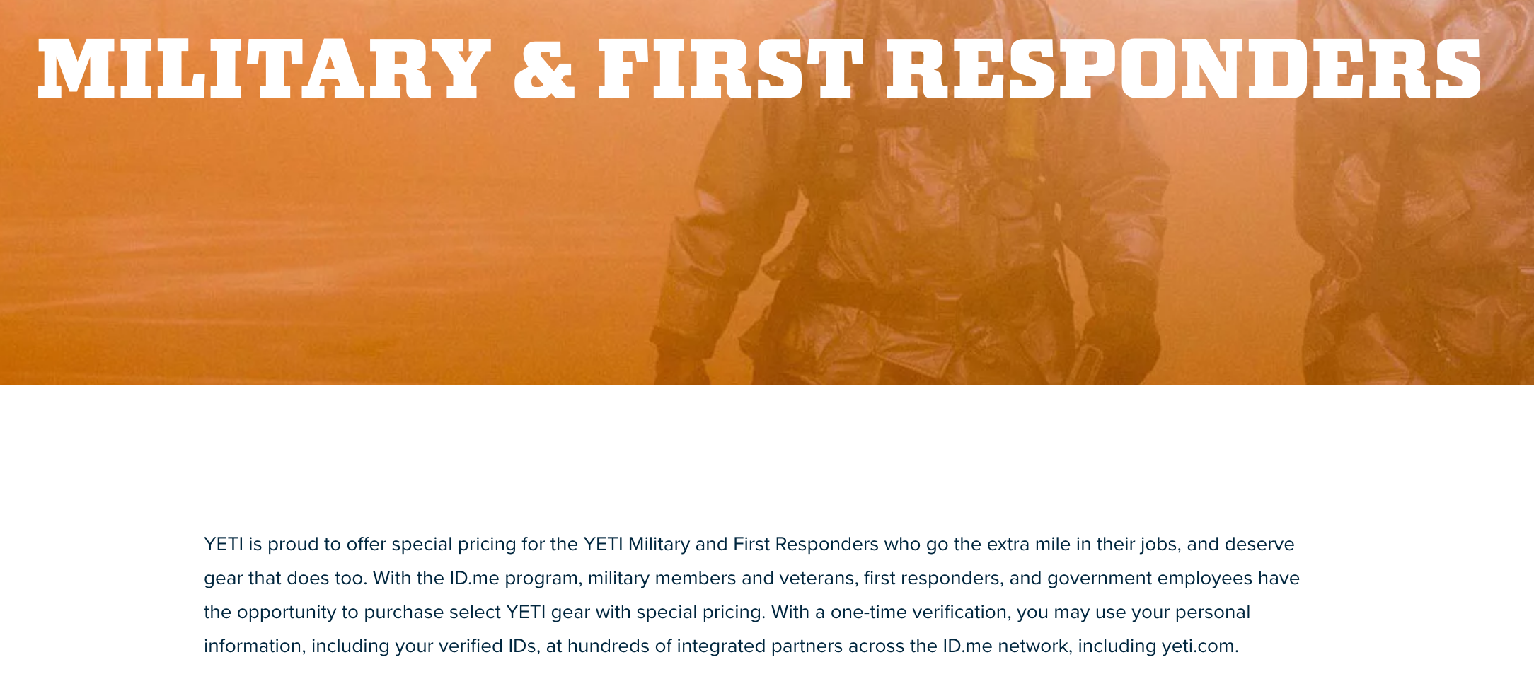 YETI Coolers Military Veteran Discounts